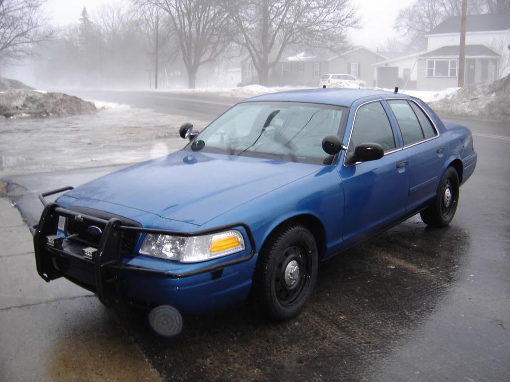 2008 CVPI - Hesperia Michigan Police Department