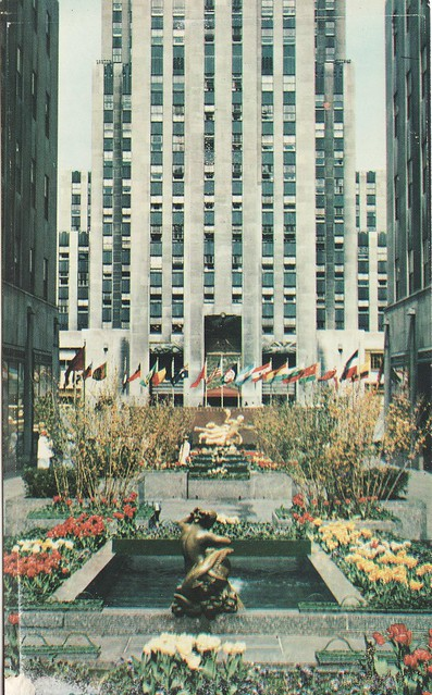 Rockefeller Center NY 1960s