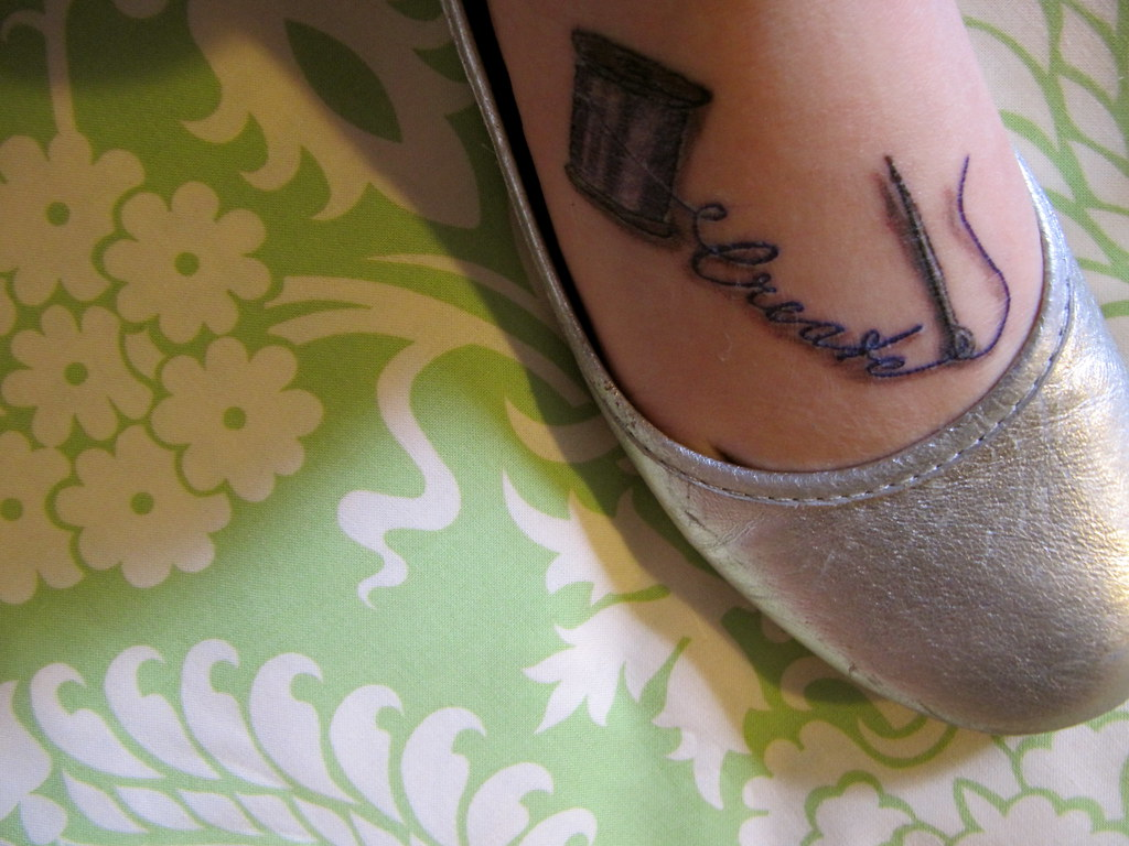 Create.. tattoo | I love this picture (my tattoo is still he… | Flickr