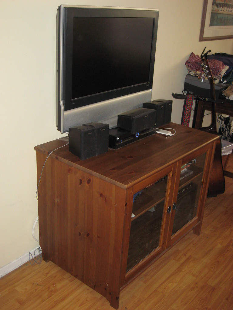 Ikea Leksvik Tv Dvd Stereo Stand Cabinet For 60 Retails Flickr
