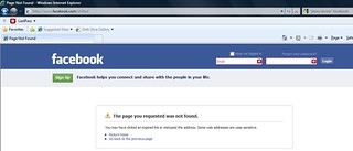 my public Facebook profile has disappeared | by The Shifted Librarian
