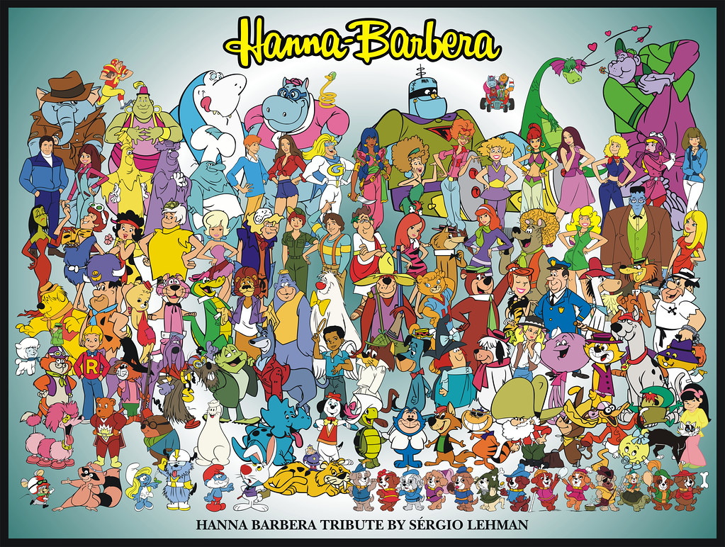 A Tribute to Hanna-Barbera | Sergio Lehman is a Hanna-Barber… | Flickr