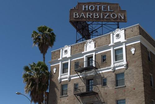Sign, Hotel Barbizon