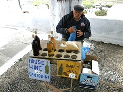 The old man who sells vinsanto...