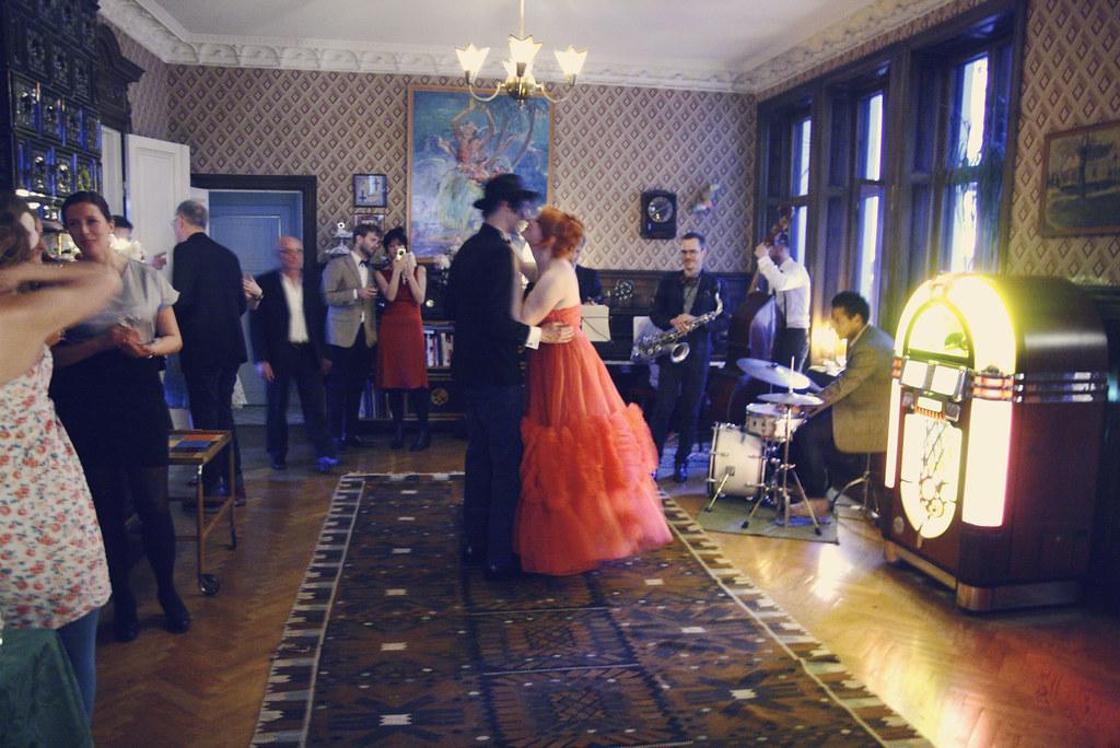 Pontus and Elsa's wedding.