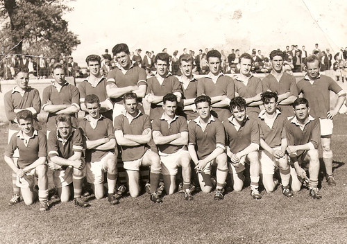 1961 Winnning Team | by Naomh Fionnbarra GAA Club