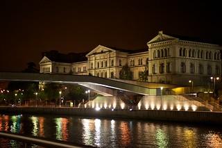 Universidad de Deusto, noche