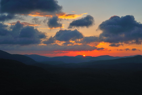whitesidemountainhighlands nccashiers ncsunrisesunset