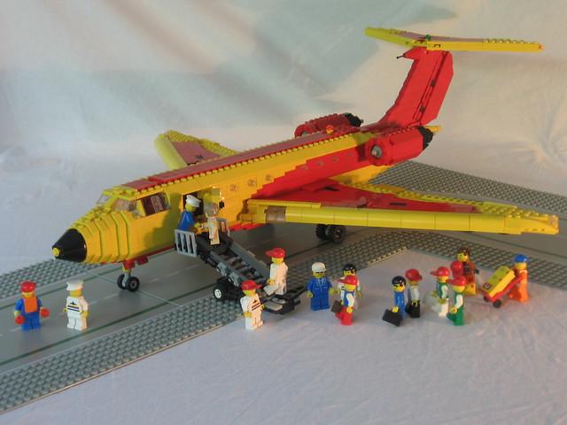 Boarding the P-1