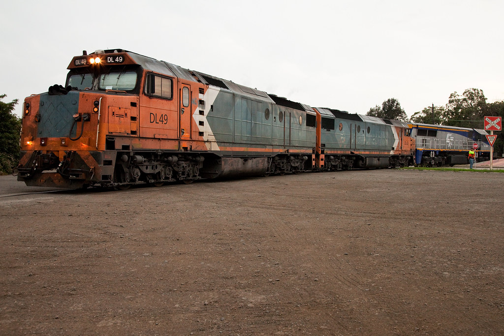 DL49 Shunting Seatons by Trent