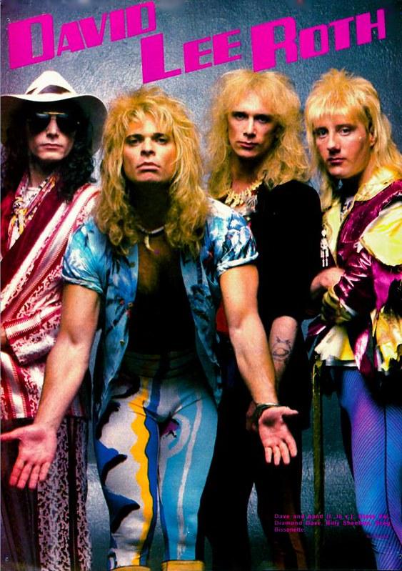 David Lee Roth Band 1986 Samhcook Flickr