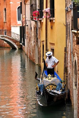 Venetian Gondolier | by VT_Professor
