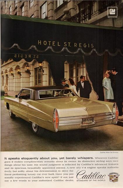 Cadillac At The St. Regis
