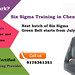 Six Sigma training in Chennai