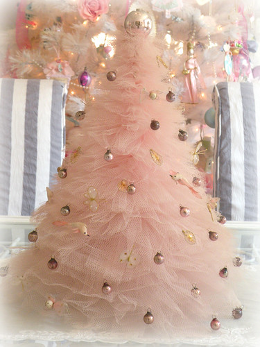 Vintage Tulle Christmas Tree   by Eye Candy Creations ~ Jenn Hayslip