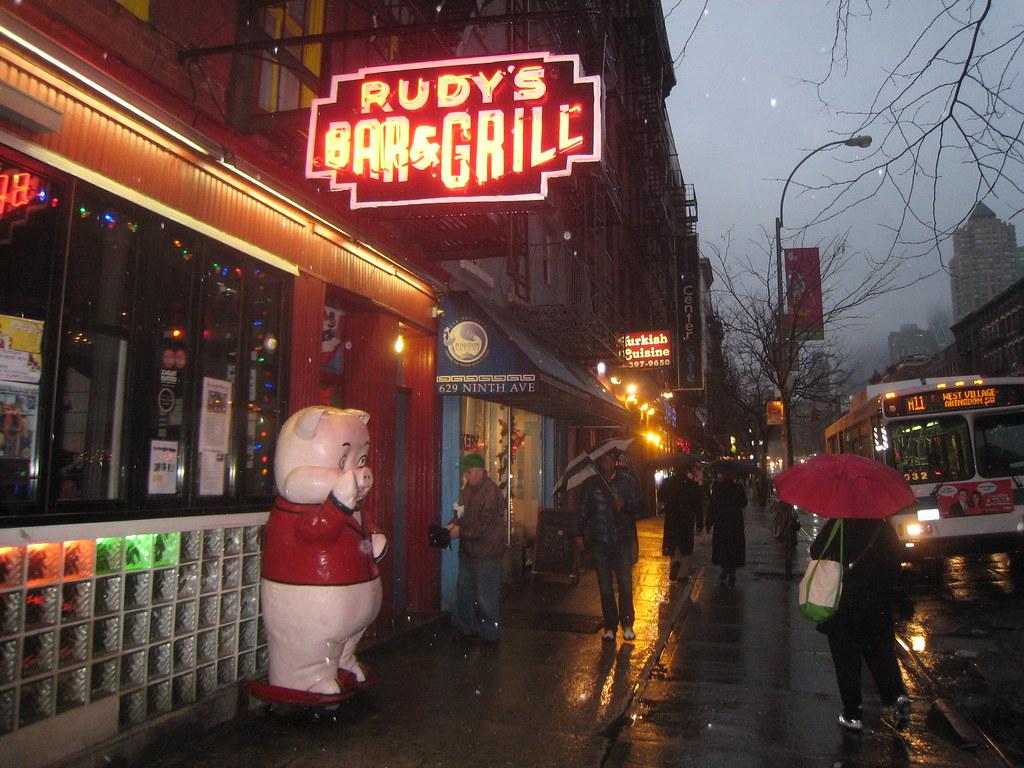 Rudy's Bar & Grill - New York City | Mark Susina | Flickr