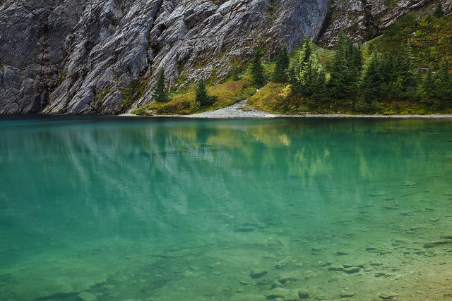Watson Lakes have aqua-green glacial water