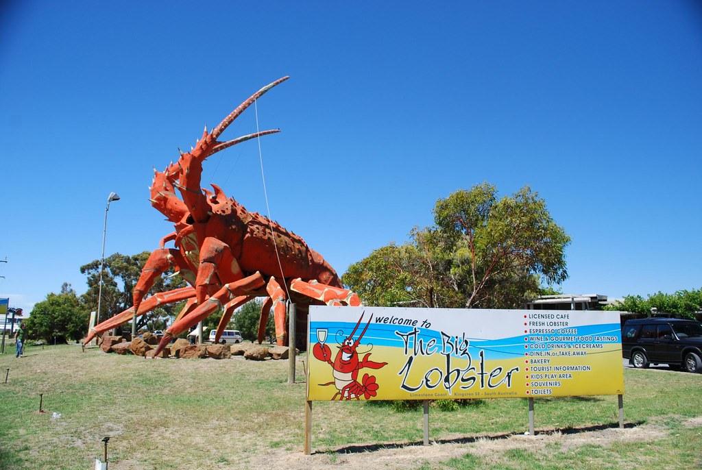 a6f09afa59 Sign - Big Lobster, Kingston SE | Big Lobster - wikipedia | Flickr