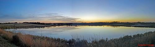 sunset lake nikon nebraska panoramic d60