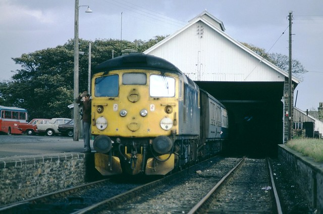 26022 at Wick - 29th September, 1980