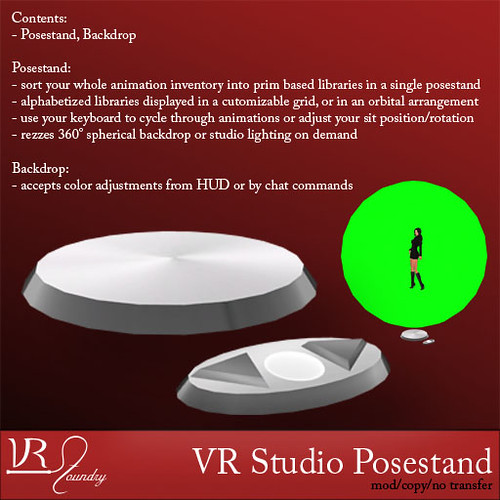 VR Studio posestand | by SasyScarborough