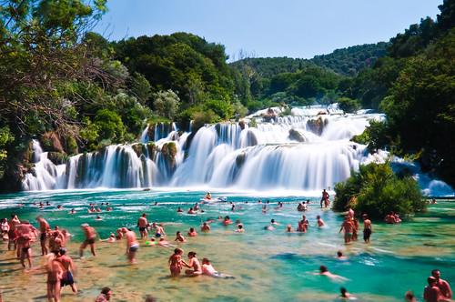 Skradinski Buk - Waterfall in Krka National Park, Croatia | by Sergiu Bacioiu