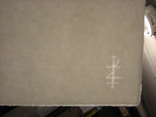 Zerkall watermark | by interrobang letterpress