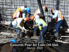 Concrete Pour for Lube Oil Slab | by Ram Power Photo Gallery
