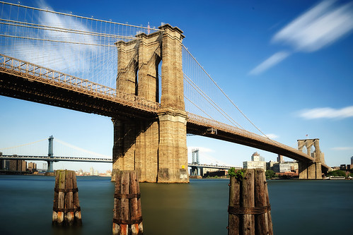 Midday Long Exposure, Brooklyn Bridge, New York City | by andrew c mace