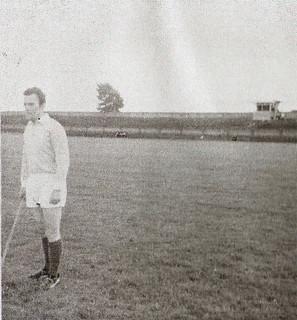I960s Sean Myles playing for Dublin   by Naomh Fionnbarra GAA Club