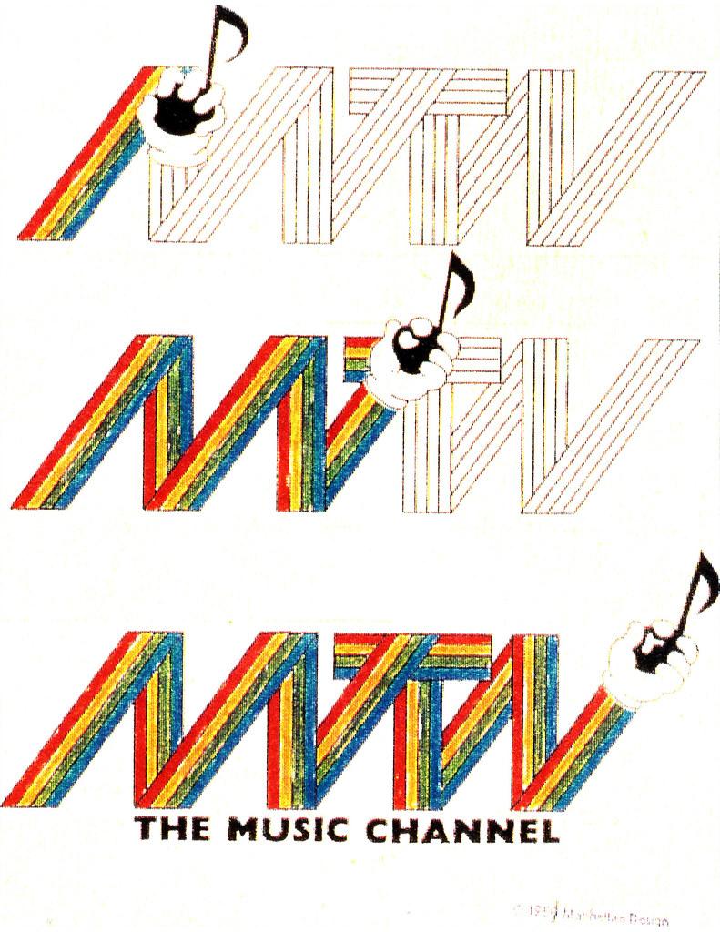 MTV logo development 1980-81 | More here>>> All design by ...