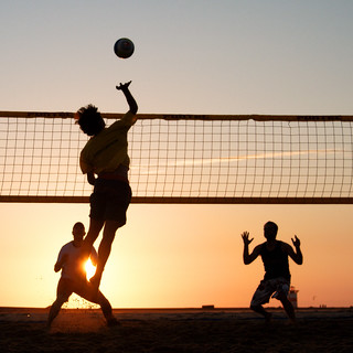 Beach volleyball | by Sander van der Wel