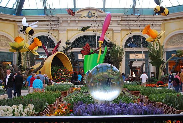 Las Vegas - Bellagio Hotel Garden