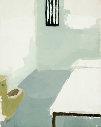 "Jennie Ottinger ""Jail Cell (yellow toilet)  (Scene from In Cold Blood)"""