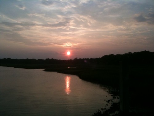 sunset southcarolina beaufort