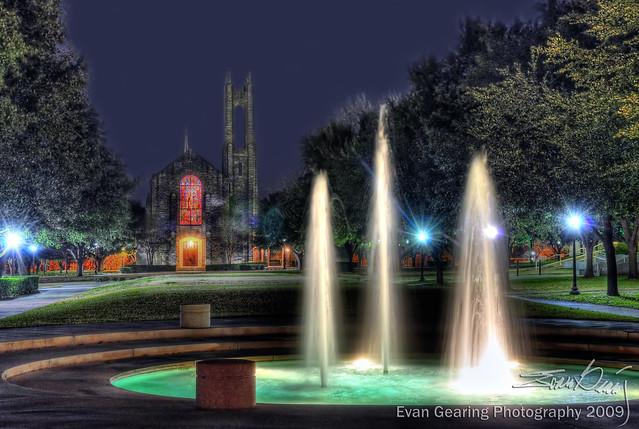 Southwestern University Fountains