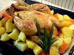 roast chicken | by Dèsirèe Tonus