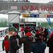 Dolní stanice lanové dráhy na Lysou horu, čekalo se kolem 10 min., foto: Petr Havelka