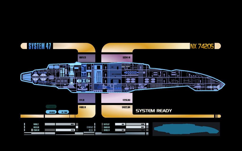 LCARS Defiant | by KotanTehark LCARS Defiant | by KotanTehark