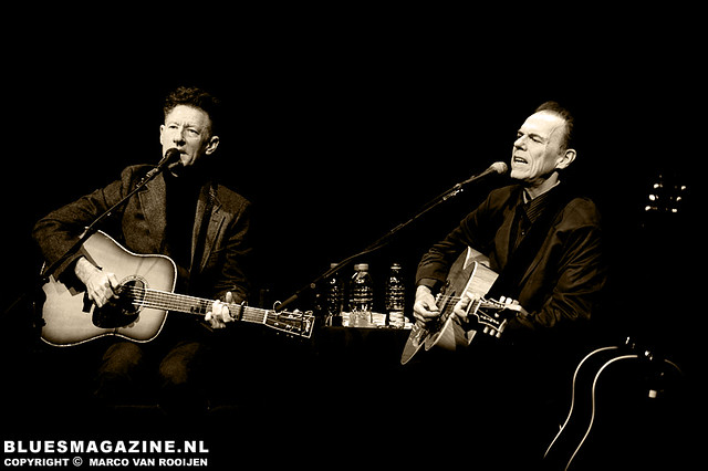 An evening with LYLE LOVETT & JOHN HIATT