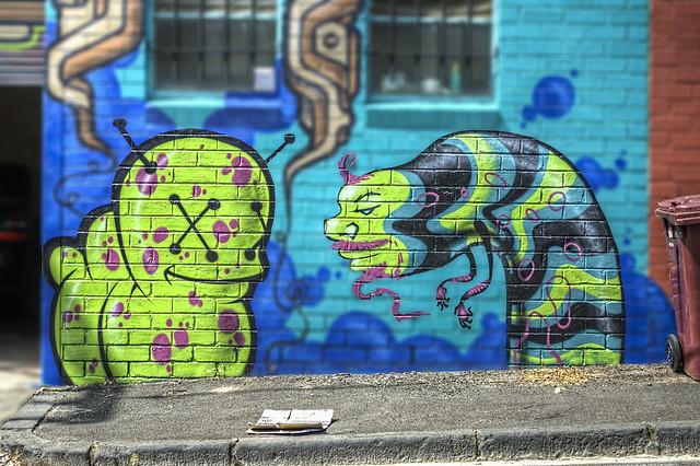 Yarra Place Graffiti