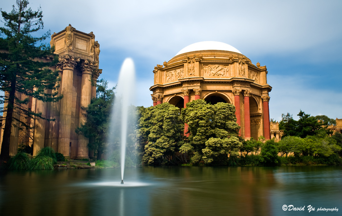 Palace Of Fine Arts in San Francisco by davidyuweb