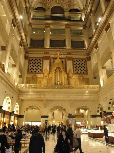 The Wanamaker Organ At Macy S Center City The Palatial