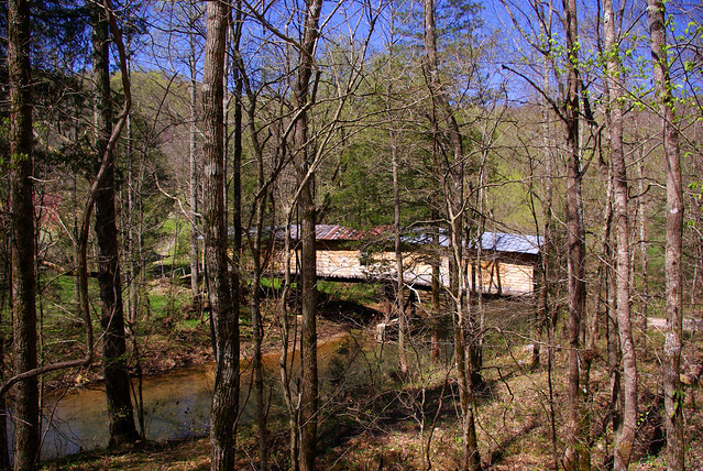 Covered Bridge, West Fork Obey River, Overton Co, TN