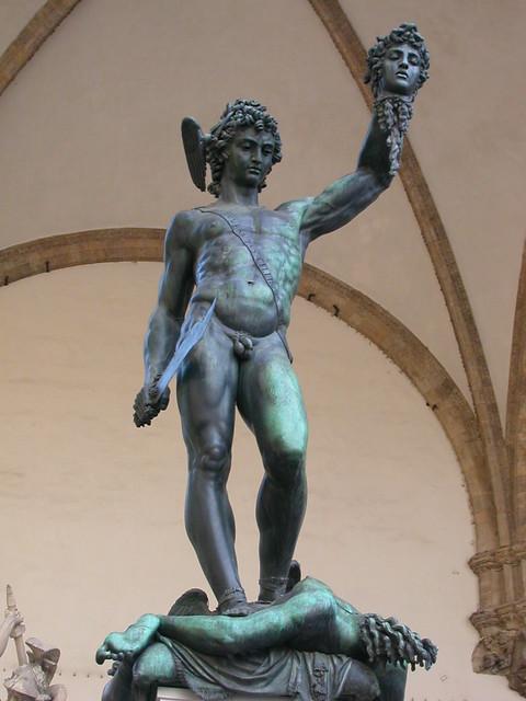 Benvenuto Cellini Perseus With The Head Of Medusa 1545 5