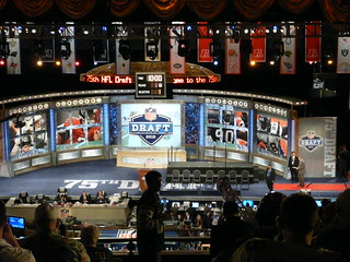NFL Draft 2010 Stage from 2nd floor at Radio City Music Hall | by Marianne O'Leary