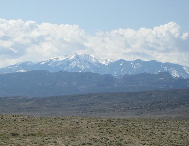 High desert meets the mountains
