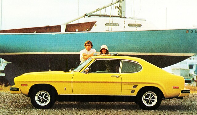 1974 Capri 2800 V 6 Sport Coupe The Early Capris Imported Flickr