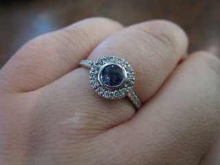 Super crazy closeup of the ring | by silver marquis