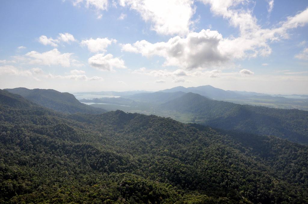 Langkawi Cable Car View From Gunung Mat Chinchang Flickr